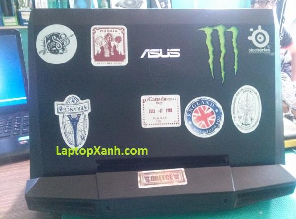 Vệ sinh laptop Asus Gaming dòng G, Gx