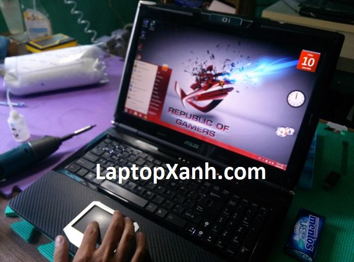 Một trong những laptop Gaming của Asus đời đầu tiên