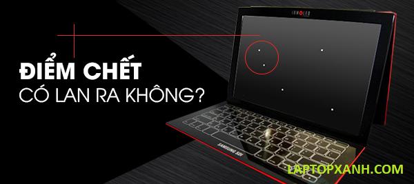 Cách kiểm tra điểm chết màn hình laptop.