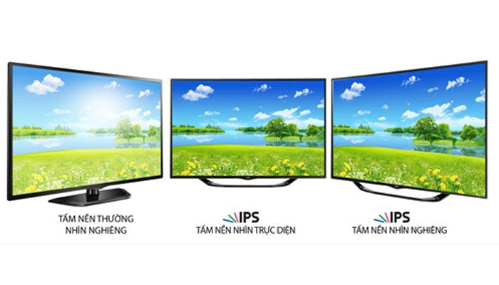 Sự khác nhau giữa màn hình TN và màn IPS