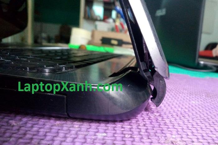Sửa bản lề laptop HP gãy 1 bên (dòng TU)