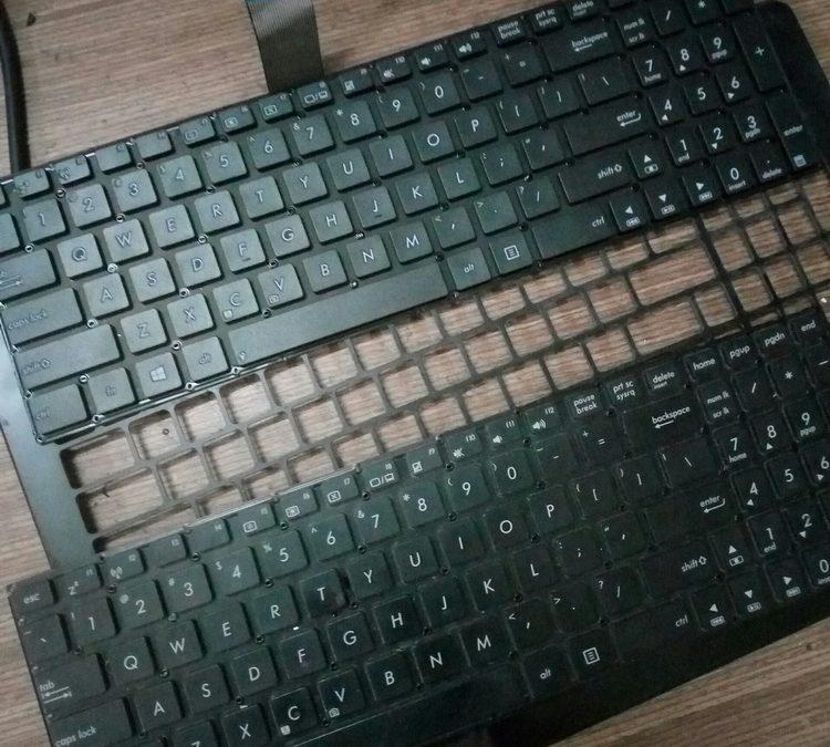 Thay bàn phím Asus X550, P550 zin chính hãng lấy liền tại TPHCM